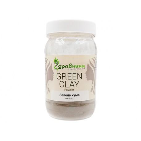 Natural Green Clay, powder, Zdravnitza, 380 g