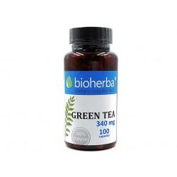 Зелен чай, Биохерба, 100 капсули