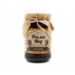 Пчелен мед - Манов, натурален, Амброзия, 450 гр.
