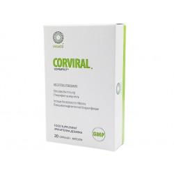 Корвирал, против вируси и инфекции, Инкмед, 20 капсули