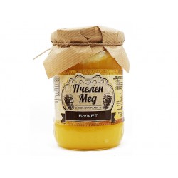 Пчелен мед - Букет, натурален, Амброзия, 700 гр.