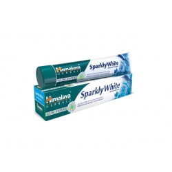 Sparkly White Herbal Toothpaste, Himalaya - 75 ml