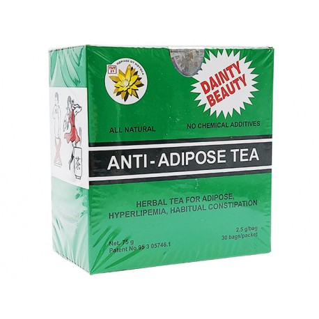 Chinese anti-adipose tea, TNT21, 30 filter bags