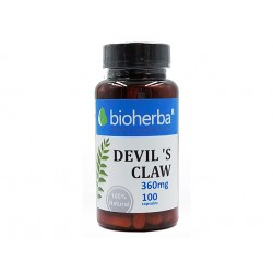 Devil's claw, joints health, Bioherba, 100 capsules