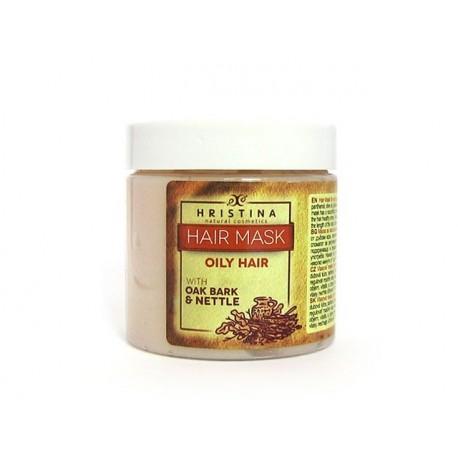 Mask for oily hair with Oak bark, Hristina, 200 ml