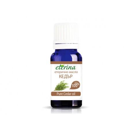 Pure Cedar essential oil, Eterina, 10 ml
