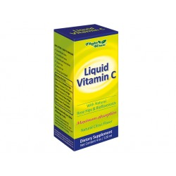 Liquid Vitamin C with rose hips and bioflavonoids, Phyto Wave, 120 ml