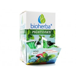 """Mentolki"", mint-flavored candies, Bioherba, 100 pcs"