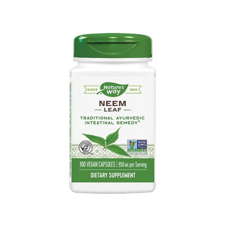 Neem - leaf, Nature's Way, 100 capsules