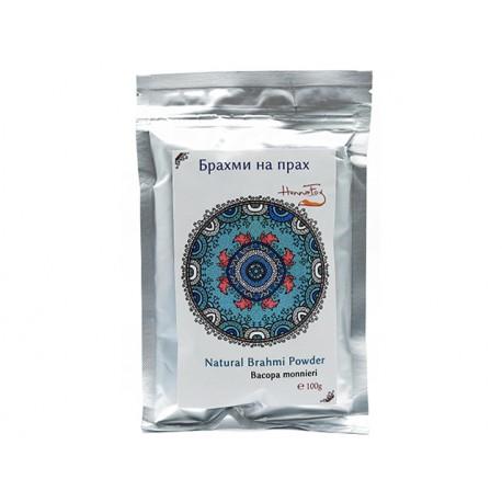 Natural Brahmi powder, HennaFox, 100 g