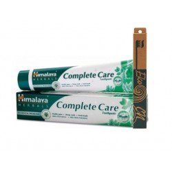 Complete Care toothpaste and bamboo toothbrush, Himalaya, 1 pc.