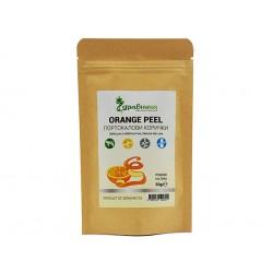 Orange peel, powder, Zdravnitza, 50 g