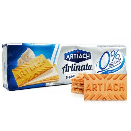 Вафлени бисквити с крем, без захар, Артик, 175 гр.