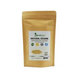 Natural Sesame, unhulled, Zdravnitza, 200 g