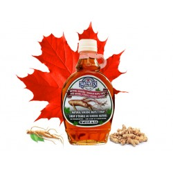 Original Canadian maple syrup with ginseng