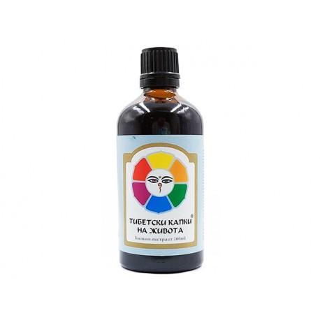 Tibetan drops of life, herbal tincture , Bioherba, 100 ml