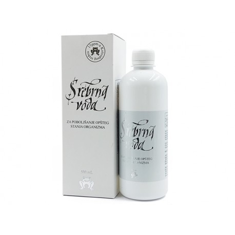Silver water - 15ppm colloidal silver, 500 ml