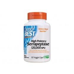 Serrapeptase 120 000 SPU, Doctor's Best, 90 capsules