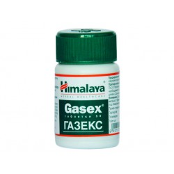 Gasex, relieves gaseous distension, Himalaya, 50 tablets