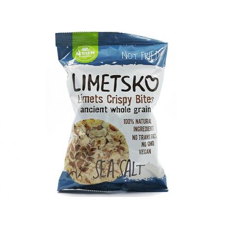 Limetsko - popped einkorn chips with sea salt, Ecosem, 60 g