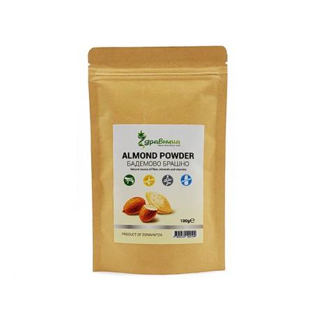 Sweet almond, pure powder, Zdravnitza, 100 g