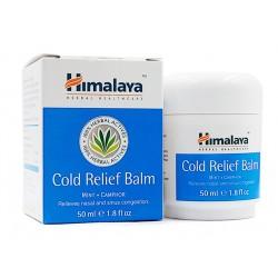 Cold Relief Balm, nasal and sinus congestion, Himalaya, 50 ml