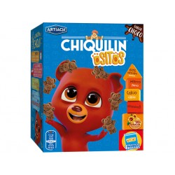 Chiquilin, biscuit mini bears with chocolate, Artiach, 450 g