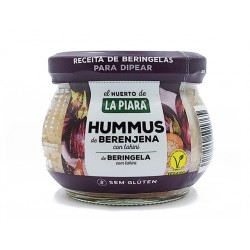 Hummus with eggplant and sesame tahini, La Piara, 180 g