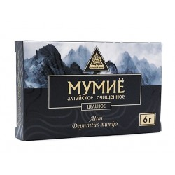 Алтайско, пречистено Мумийо (Шилажит), Алтайский Нектар, 6 гр.