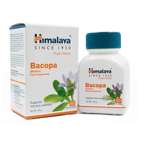 Бакопа (Брахми), в подкрепа на мозъка, Хималая, 60 капсули