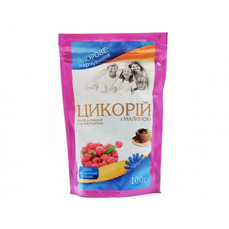 Разтворима напитка от цикория, ечемик и малина, Галка, 100 гр.