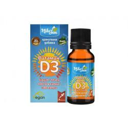 Витамин D3, течен, 400 IU в капка, Никсен, 20 мл.