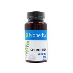 Спирулина, Биохерба, 100 капсули