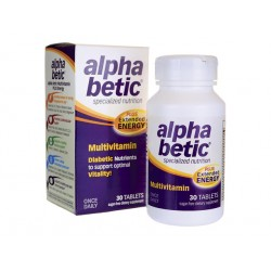 Alpha Betic Multivitamin for diabetics