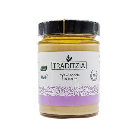 Sesame tahini, hulled sesame seeds, Traditzia, 300 g