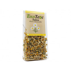 Chamomile, dried flowers, EcoTeas, 18 g