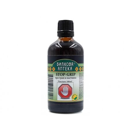 Stop Flu, herbal tincture, Bioherba, 100 ml