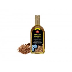 Flaxseed oil, cold pressed, Agroselprom, 350 ml