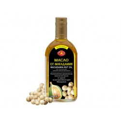Macadamia nut oil, cold pressed, Agroselprom, 350 ml