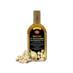 Масло от макадамия, студено пресовано, Агроселпром, 350 мл.