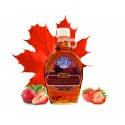 Original Canadian Maple Syrup with strawberry