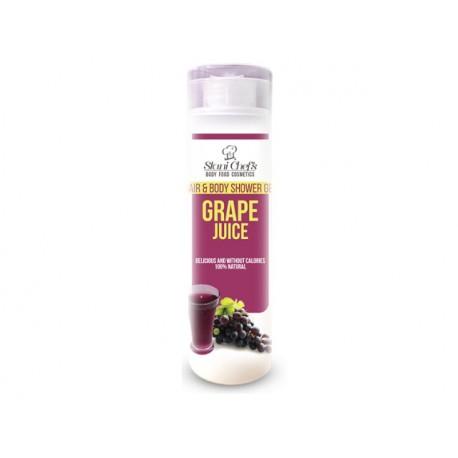 Душ гел за коса и тяло с гроздов сок