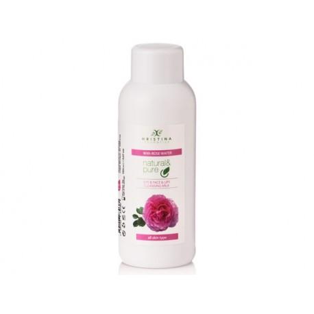 Тоалетно мляко за лице с розова вода