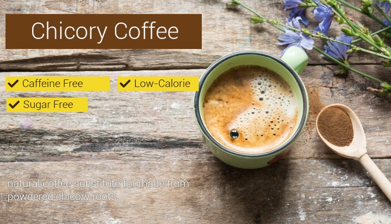 Chicory powder - natural coffee substitute