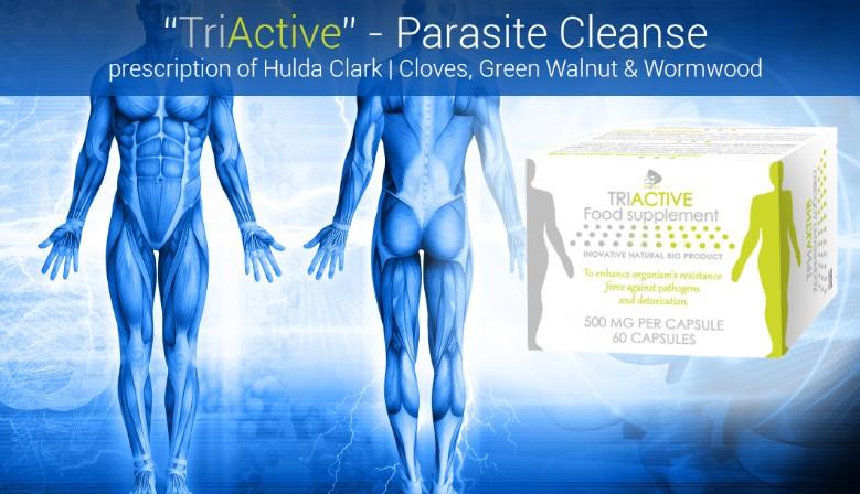TriActive, Parasite Cleanse - 60 capsules